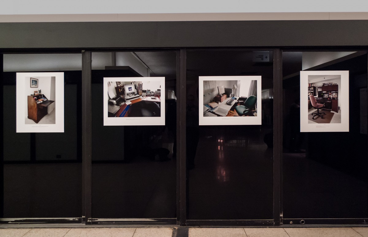 "<i>Family Workstations</i>, 2007 – Installation view, Art Souterrain, 2013 <span class=""photo-credit""> – Photo<a href=""http://paullitherland.com"" target=""_blank"">Paul Litherland</a></span>  <a href=""http://paullitherland.com/artsite_wp/wp-content/uploads/2014/04/PaulLitherland_FamilyWorkstations2013_Installation02-1200x772.jpg"" target=""_blank""><img src=""http://paullitherland.com/artsite_wp/wp-content/themes/artpress-child/img/artworkDownloadImg.png"" title=""télécharger image / download image"" /></a>"