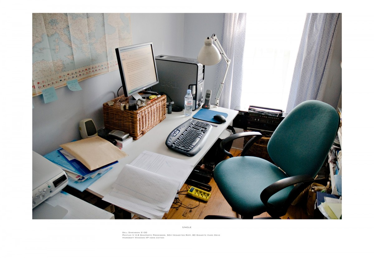 Family Workstations, 2007 &ndash; Uncle                                                <a href='http://paullitherland.com/artsite_wp/wp-content/uploads/2014/05/03b-BarryWhite-1200x827.jpg' target='_blank'><img src='http://paullitherland.com/artsite_wp/wp-content/themes/artpress-child/img/artworkDownloadImg.png' title='télécharger image / download image' /></a>&nbsp;                                                 <!-- FIX!! write if statement here so this href and img only appear when category is 'series' cat=5 see also line 325, so same there --> 												<a href='http://paullitherland.com/uncle1/' target='_blank'>&nbsp; 												 <img src='http://paullitherland.com/artsite_wp/wp-content/themes/artpress-child/img/artworkPermalinkIcon.png' title='permalink to photo' /></a>