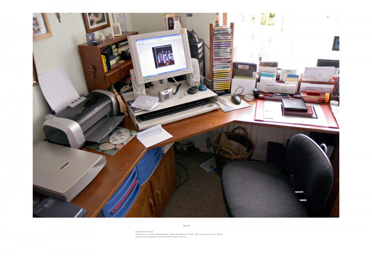 Family Workstations, 2007 &ndash; Aunt                                                <a href='http://paullitherland.com/artsite_wp/wp-content/uploads/2014/05/06b-isobel2-1200x827.jpg' target='_blank'><img src='http://paullitherland.com/artsite_wp/wp-content/themes/artpress-child/img/artworkDownloadImg.png' title='télécharger image / download image' /></a>&nbsp;                                                 <!-- FIX!! write if statement here so this href and img only appear when category is 'series' cat=5 see also line 325, so same there --> 												<a href='http://paullitherland.com/aunt-isobel/' target='_blank'>&nbsp; 												 <img src='http://paullitherland.com/artsite_wp/wp-content/themes/artpress-child/img/artworkPermalinkIcon.png' title='permalink to photo' /></a>