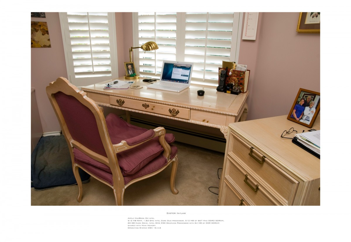 Family Workstations, 2007 &ndash; Sister In Law                                                <a href='http://paullitherland.com/artsite_wp/wp-content/uploads/2014/05/10b-madeleinework-1200x827.jpg' target='_blank'><img src='http://paullitherland.com/artsite_wp/wp-content/themes/artpress-child/img/artworkDownloadImg.png' title='télécharger image / download image' /></a>&nbsp;                                                 <!-- FIX!! write if statement here so this href and img only appear when category is 'series' cat=5 see also line 325, so same there --> <a href='http://paullitherland.com/sister-in-law-2/' target='_blank'>&nbsp;  <img src='http://paullitherland.com/artsite_wp/wp-content/themes/artpress-child/img/artworkPermalinkIcon.png' title='permalink to photo' /></a>