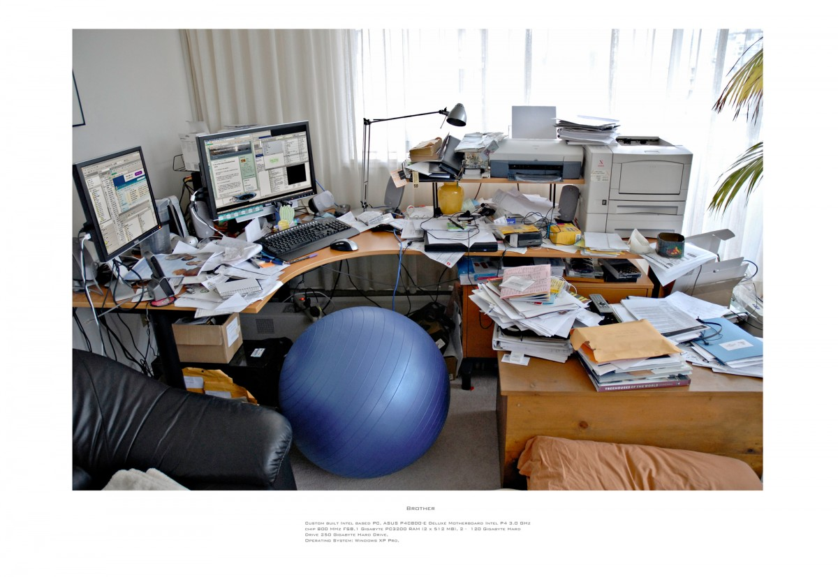 Family Workstations, 2007 &ndash; Brother                                                <a href='http://paullitherland.com/artsite_wp/wp-content/uploads/2014/05/13b-Simon-1200x827.jpg' target='_blank'><img src='http://paullitherland.com/artsite_wp/wp-content/themes/artpress-child/img/artworkDownloadImg.png' title='télécharger image / download image' /></a>&nbsp;                                                 <!-- FIX!! write if statement here so this href and img only appear when category is 'series' cat=5 see also line 325, so same there --> 												<a href='http://paullitherland.com/brother2/' target='_blank'>&nbsp; 												 <img src='http://paullitherland.com/artsite_wp/wp-content/themes/artpress-child/img/artworkPermalinkIcon.png' title='permalink to photo' /></a>