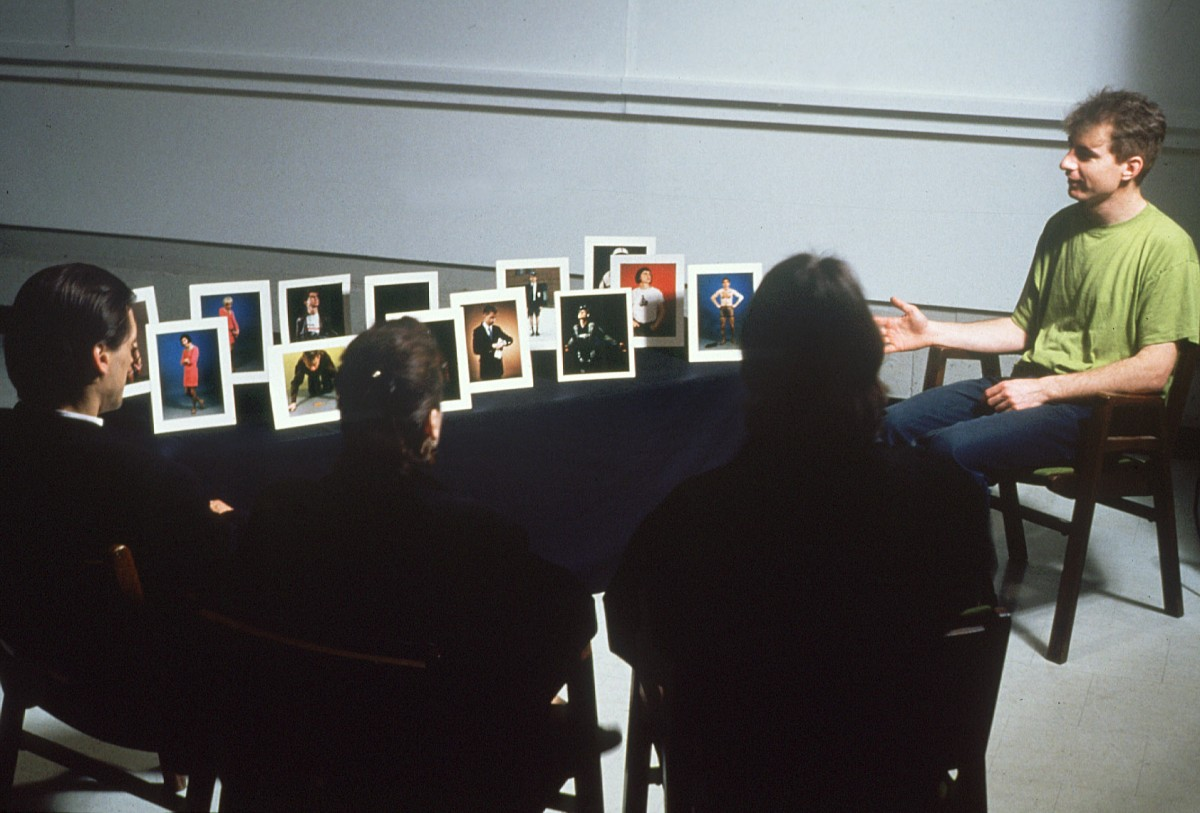 "<i>Souvenirs</i>, 1993 – Paul Litherland performing Souvenirs in the Bourget Building on rue de la Montagne, Concordia University, 1993 <span class=""photo-credit""> – Y <a href=""http://paullitherland.com/artsite_wp/wp-content/uploads/PaulLitherland_1993_001_Souvenirs_1993souvenirsperf01-1200x813.jpg"" target=""_blank""><img src=""http://paullitherland.com/artsite_wp/wp-content/themes/artpress-child/img/artworkDownloadImg.png"" title=""télécharger image / download image"" /></a>"