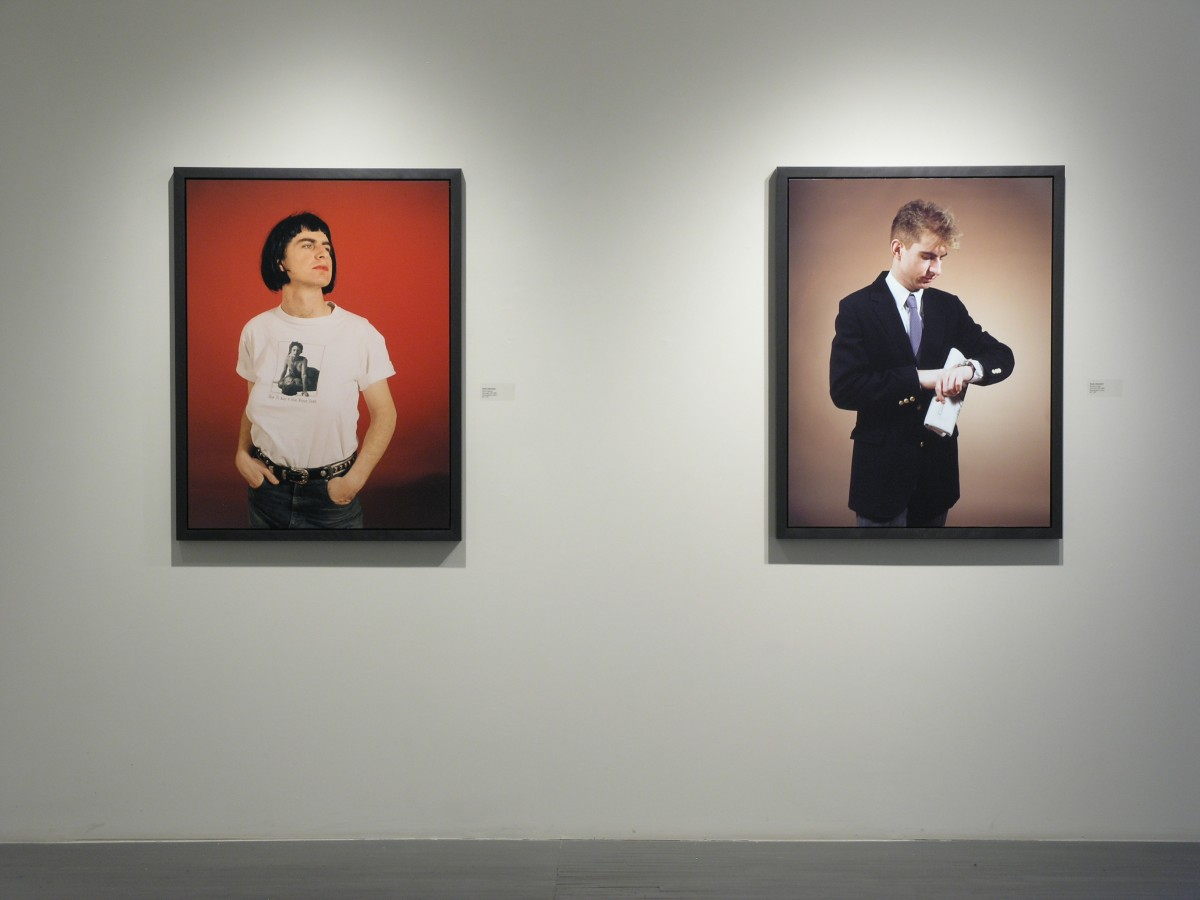 Absolutely Fabulous, 2006 –  													Installation view of 'Diesel Queen' and 'Business Man', Galerie Thérèse Dion, 2006