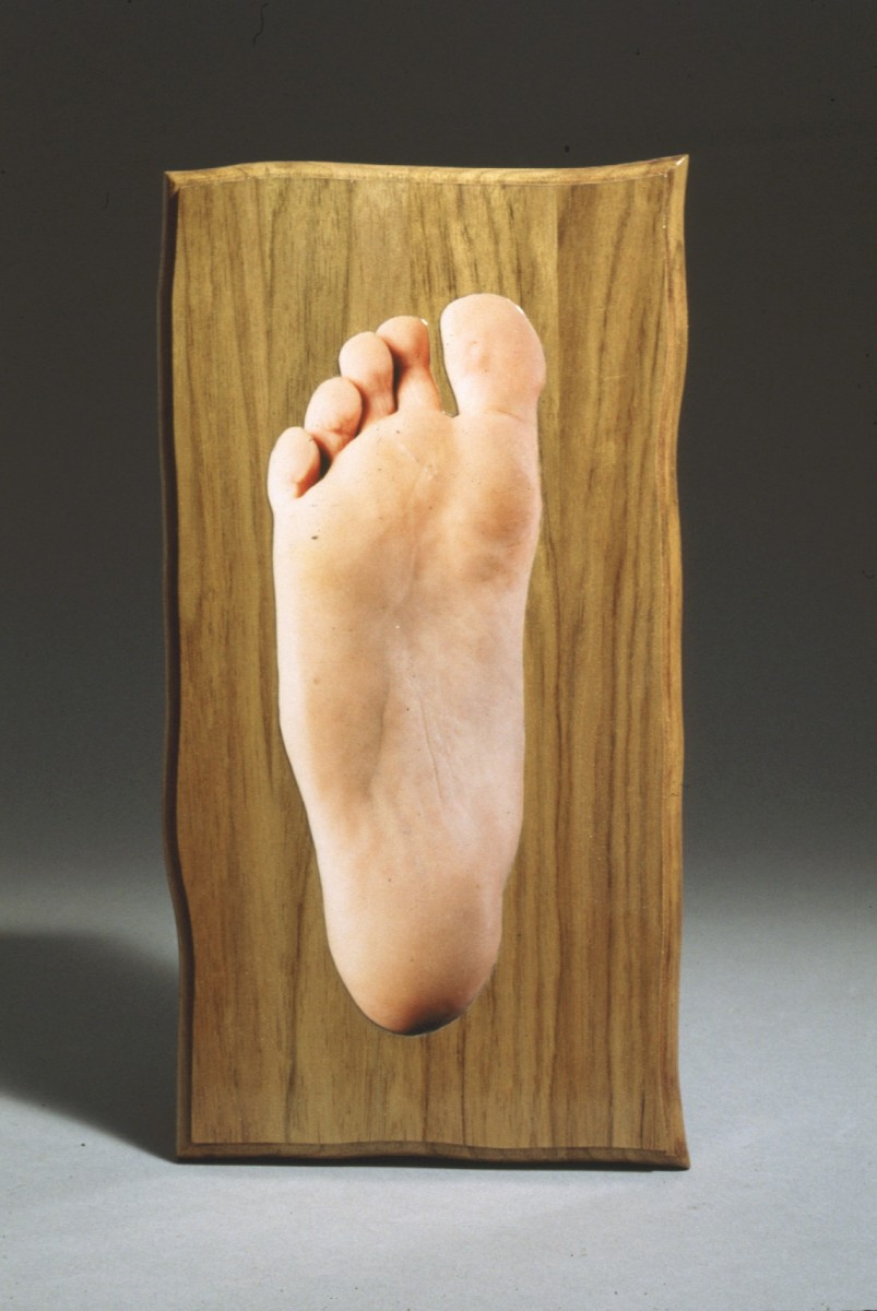 SJPJ Sculptures, 1994 –  													All Natural series: Foot