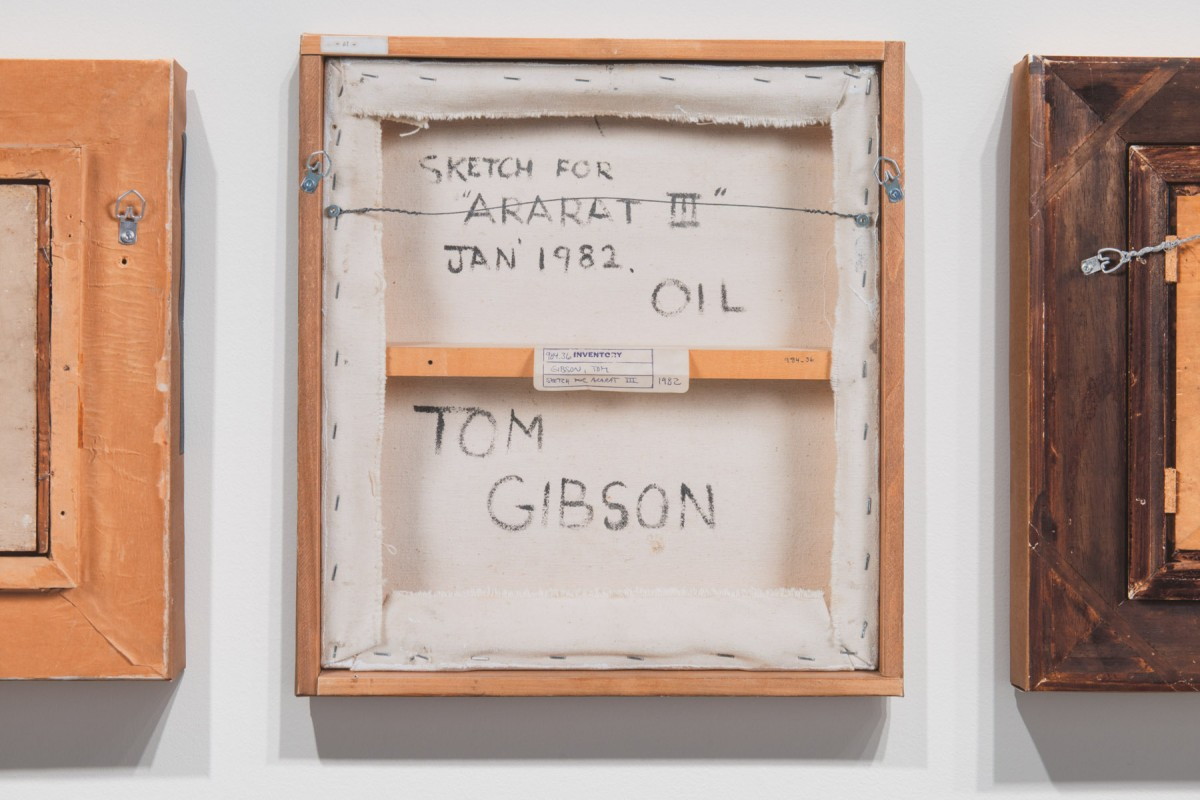 <i>B-Side Tom Gibson</i> –  from grouping works selected by size (20 to 24 inches), 2015 <a href='https://paullitherland.com/artsite_wp/wp-content/uploads/2014-11-18-BSideTomGibson010-1200x800.jpg' target='_blank'><img src='https://paullitherland.com/artsite_wp/wp-content/themes/artpress-child/img/artworkDownloadImg.png' title='télécharger image / download image' /></a>