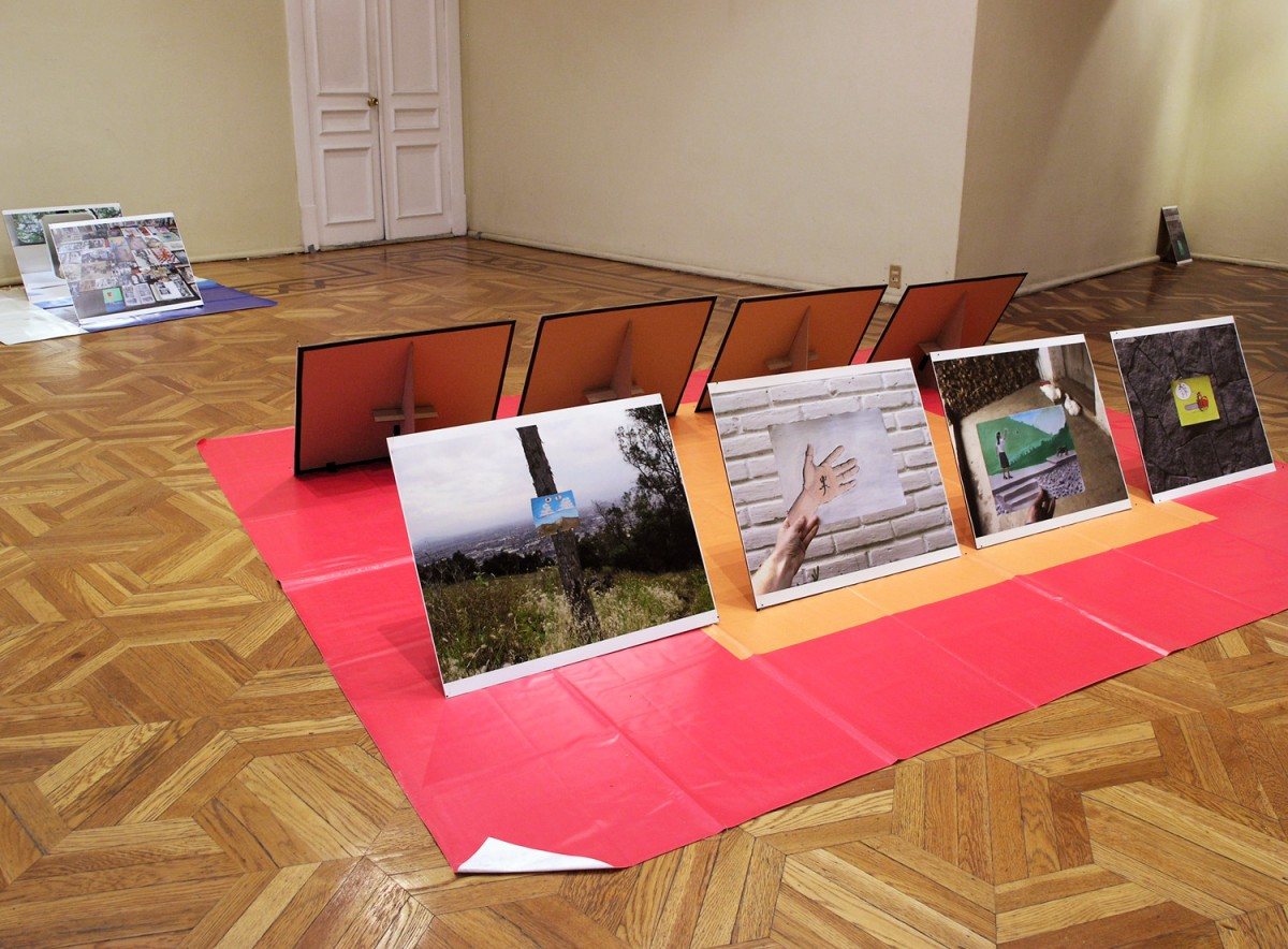 """Art Photography"" from <i></i>, 2005 –  										 – Installation view, Galeria del Fonca, 2006"
