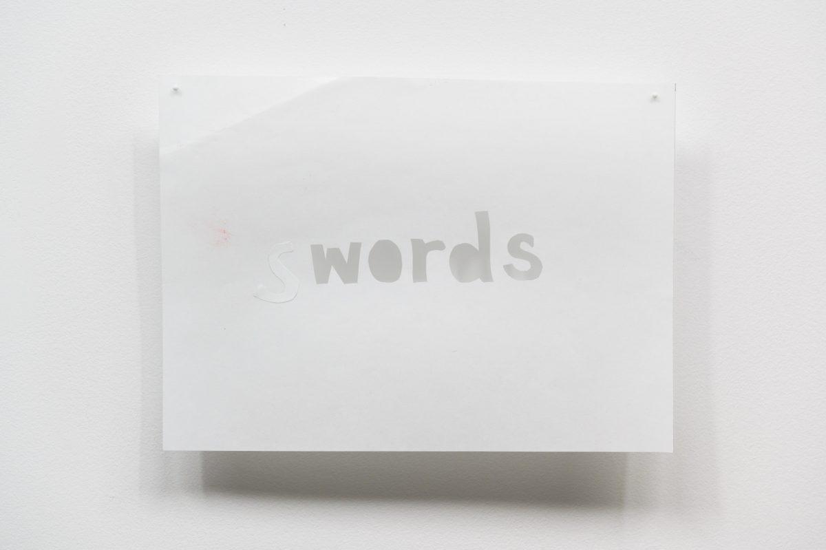 <i>S/words</i>, 2016 <a href='https://paullitherland.com/artsite_wp/wp-content/uploads/2020-04-21-Trask_Swords-001-1200x799.jpg' target='_blank'><img src='https://paullitherland.com/artsite_wp/wp-content/themes/artpress-child/img/artworkDownloadImg.png' title='télécharger image / download image' /></a>