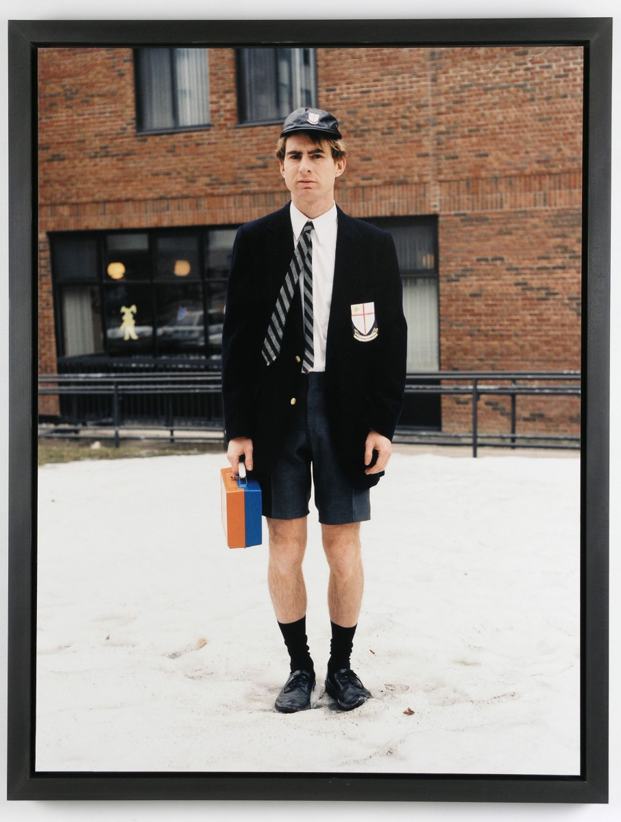 <i>School Boy</i> – School Boy, 2006 <a href='https://paullitherland.com/artsite_wp/wp-content/uploads/PaulLitherland_2006_AbFab_Schoolboy-906x1200.jpg' target='_blank'><img src='https://paullitherland.com/artsite_wp/wp-content/themes/artpress-child/img/artworkDownloadImg.png' title='télécharger image / download image' /></a>