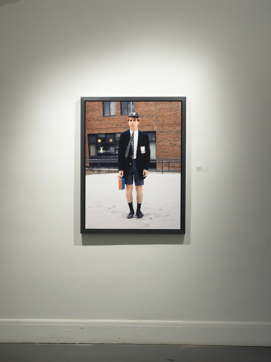 """Absolutely Fabulous"" from <i></i>, 2006 –  										 – Installation view of School Boy, Galerie Thérèse Dion, 2006"