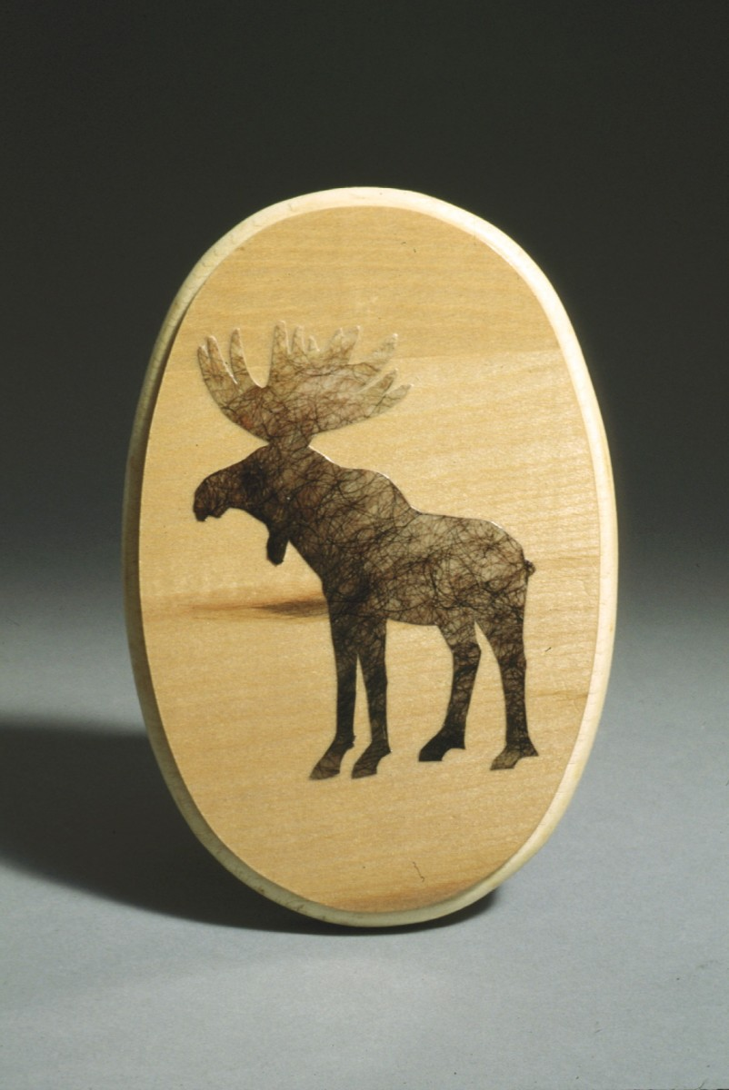 """All Natural series"" from <i></i>, 1994 –  										 – All Natural series: Moose Hair"