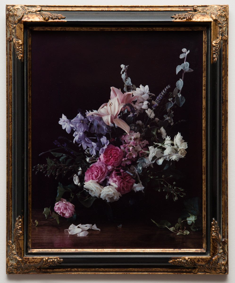 """Bouquet"" from <i></i>, 2000 –  										 – Paul Litherland and Audrey Litherland collaboration, after Breughel the Elder"